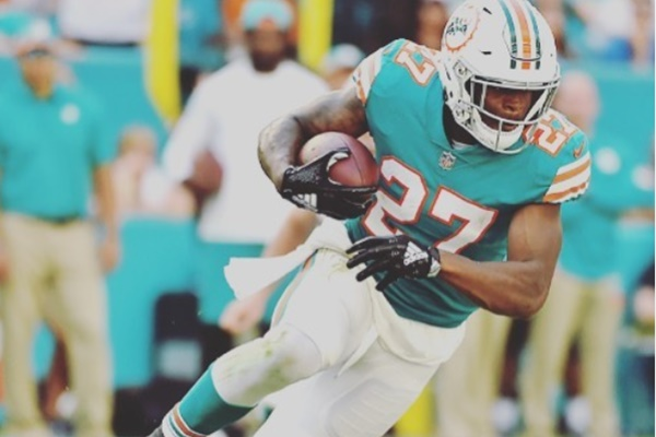 Dolphins place RB Kalen Ballage on injured