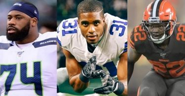 NFL TRADES: George Fant; Byron Jones + Eric Murray