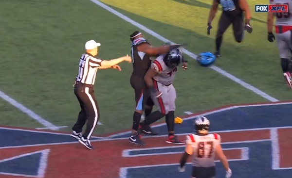 Dallas-New York XFL Game: Multiple Ejections After Fight Breaks Out