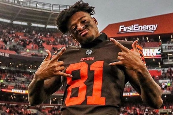WR Rashard Higgins Re-signs with The Browns