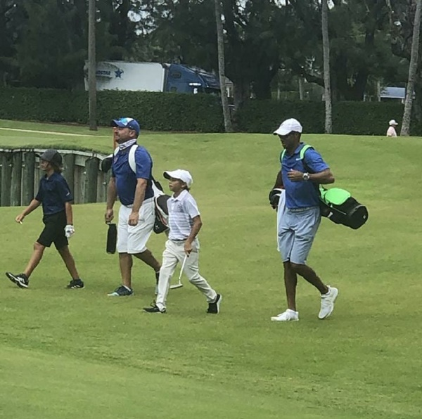 Tiger Woods Son Charlie Woods Proves To Be Like Dad