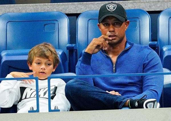Tiger Woods Son Charlie Dominates Junior Golf Tournament