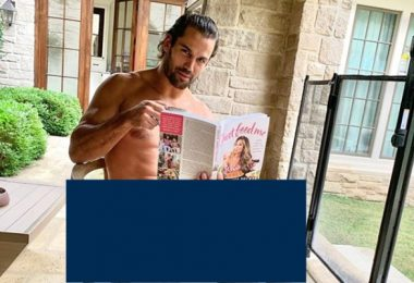 Eric Decker STIPS OFF Clothes To Promote Wife's Cookbook