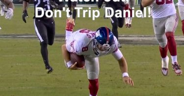 NY Giants QB Daniel Jones CLOWNED For Tripping