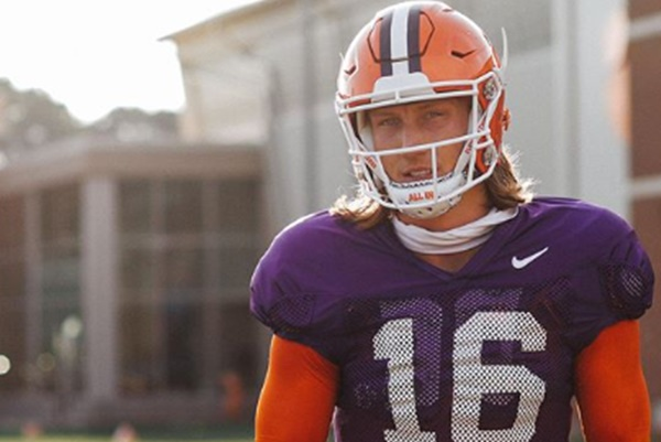 Clemson QB Trevor Lawrence Positive With COVID; He Releases Statement