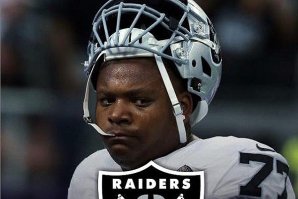 Raiders OT Trent Brown Hospitalized With IV Injury