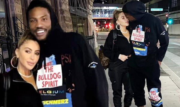 Malik Beasley Cozy Up With Larsa Pippen in Minnesota
