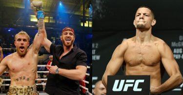 Nate Diaz WARNS Jake Paul STOP Speaking Reckless About McGregor