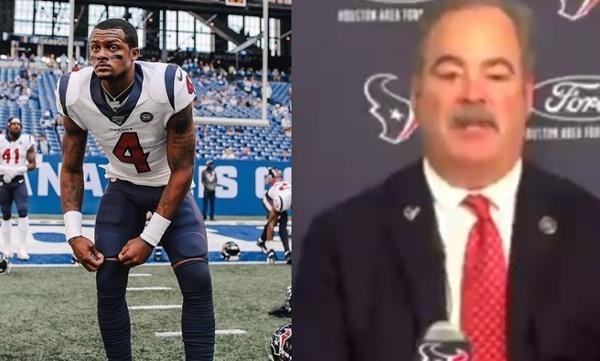 Texans' Owner Cal McNair + GM Nick Caserio Responds To Deshaun Watson