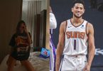 Kendall Jenner Wears Suns Shirt as BF Devin Booker Receives All-Star Bid