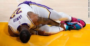 LeBron James Out Indefinitely