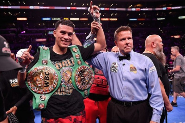 David Benavidez Gunning For Canelo Alvarez Fight