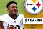 JuJu Smith-Schuster Remains With Steelers For Less Money