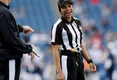 Maia Chaka Becomes First Black Female NFL Official