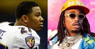 Quavo Saweetie Elevator Fight Compared to Ray Rice