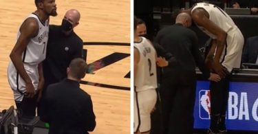 Kevin Durant Injury; Nets Baller Suffers Thigh Contusion