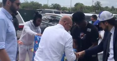 Dolphins Jaylen Waddle + Jerome Baker Help Condo Collapse Victims