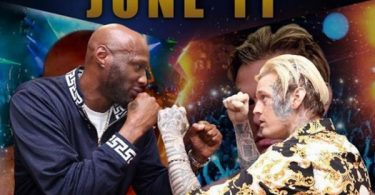 Lamar Odom Touches Down In Atlantic City For Aaron Carter Fight