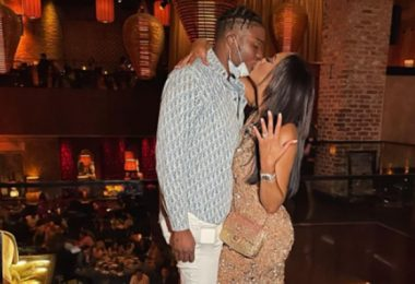 Steelers Dwayne Haskins Locks Down Kalabrya With Insane Engagement Ring