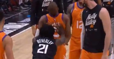 Clippers Patrick Beverley Is A Punk For Pushing Chris Paul