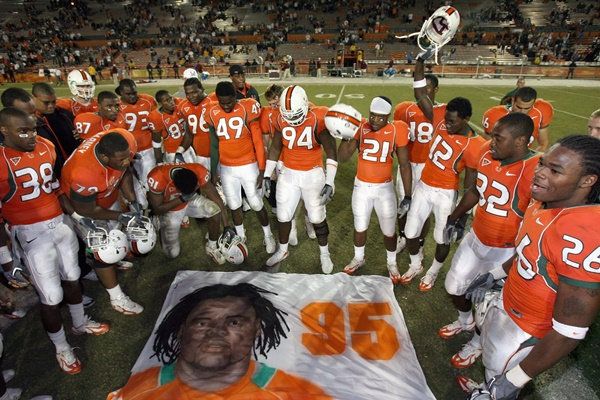 Former University of Miami Player Arrested For Death of Bryan Pata