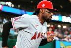 Angels Jo Adell Gifts Fan A MLB Baseball Bat