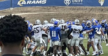 Rams & Raiders Joint Practice Called Off Over Fighting