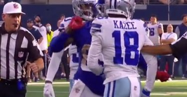 Kadarius Toney Releases Statement On Punching Cowboys Player & Getting Ejected